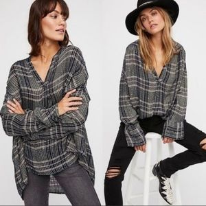 NWT Free People Fearless Love oversized tunic
